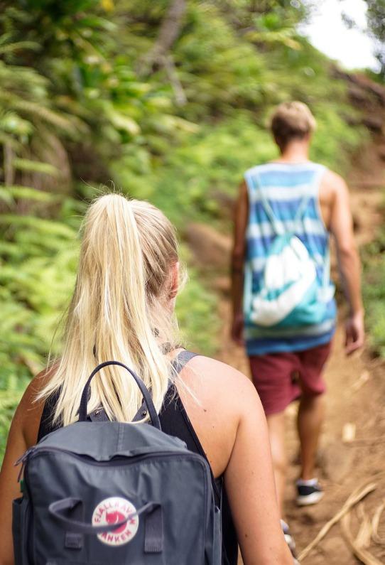 Viaje de estudiantes NAvarra senderismo