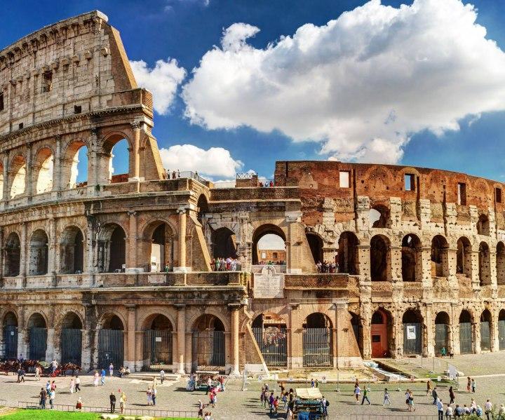 Fin de curso en roma